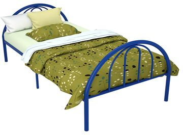 Brooklyn Metal Twin Bed