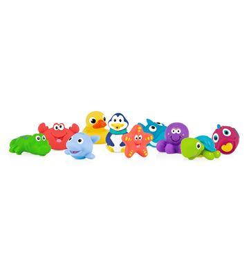 Little Squirts™ 10-piece Bath Squirters