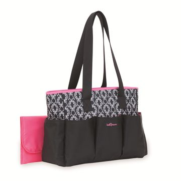 7-Pocket Tote Diaper Bag