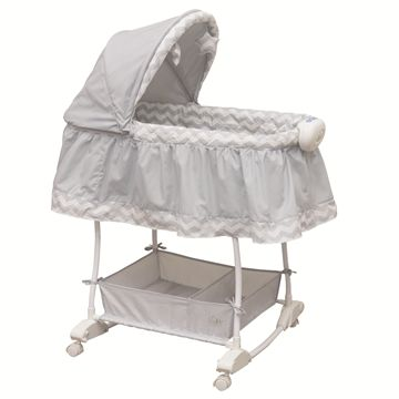 Rocking Bassinet Serene Chevron