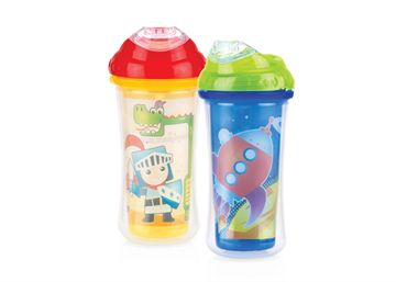 2-Pack Insulated Clik-it™ Cool Sipper™ - 9 oz.