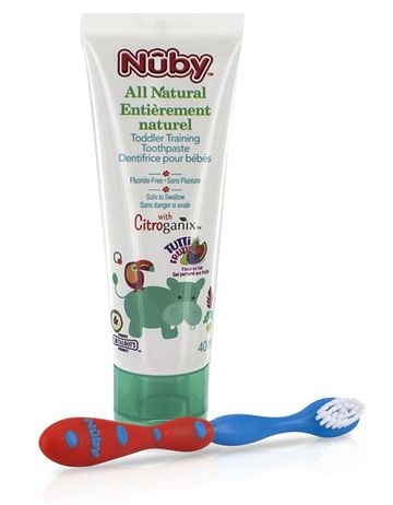 Toddler Toothpaste w/Toothbrush