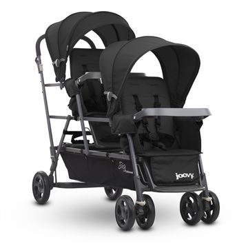 Big Caboose™ Graphite Stand-on Triple Stroller