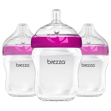 3-Pack Polypropylene Bottle 9 oz.