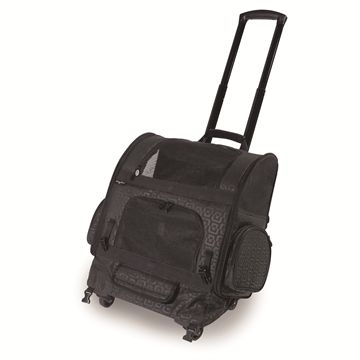 RC2000 Roller-Carrier™ Pet Carrier - Black Geometric