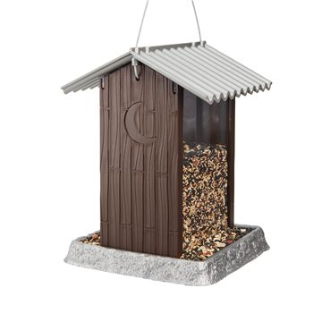 Outhouse Birdfeeder