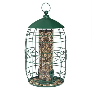 Squirrel-Free Tube Birdfeeder