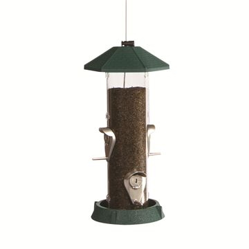 2 in 1 Hingedport Birdfeeder 4Perch