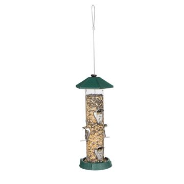 2 in 1 Hingedport Birdfeeder 6Perch
