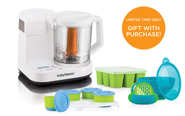 Glass One Step Baby Food Maker with BONUS Garden Fresh Gift Pack