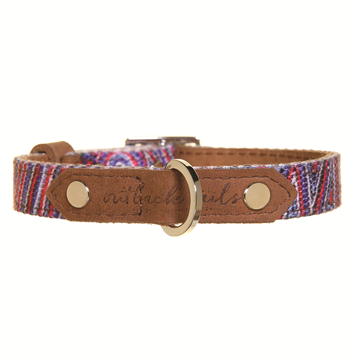 "Leather Dog Collar - Small 10"" to 13.5"""