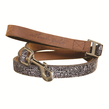 Leather Dog Lead 51""